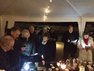 Carol Singing with the Neighbours