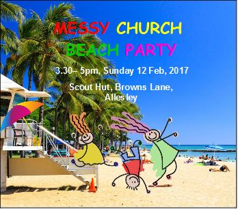 Messy Church Beach Party