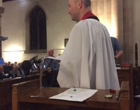 Miles is New Rector of All Saints