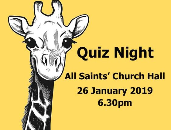Quiz Night – 26 January 2019