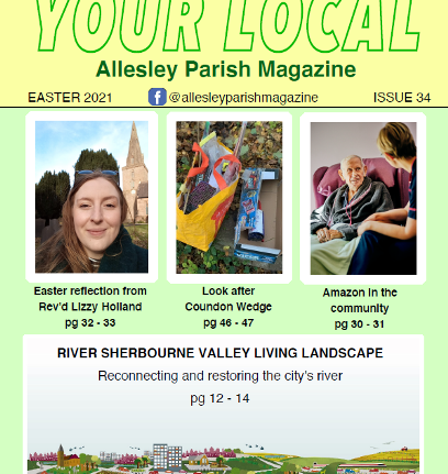 Allesley Parish Magazine – Easter 2021