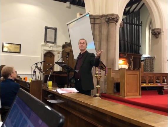 Sermon 15 March 2020 – Andy Castle from Thrive